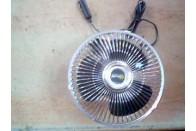Вентилятор в салон с поворотом 24В